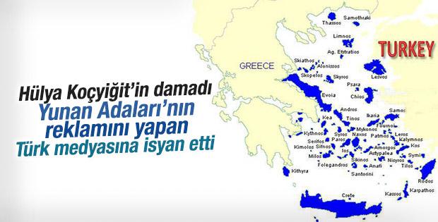 Ender Alkoçlar Yunan Adaları'nı öven yazarlara isyan etti