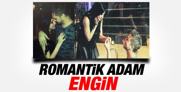 Engin Altan Düzyatan'dan romantik evlilik teklifi