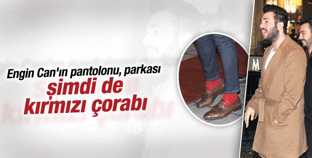 Engin Can'ın kırmızı çorapları