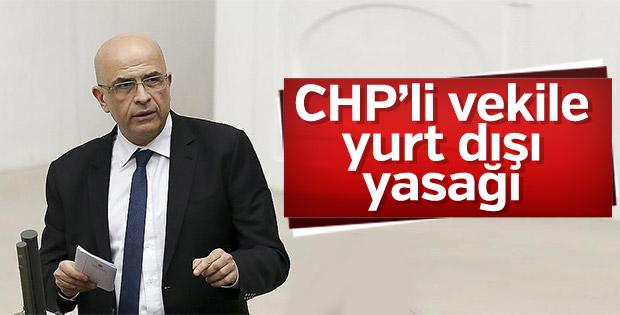 Enis Berberoğlu'na yurt dışı yasağı