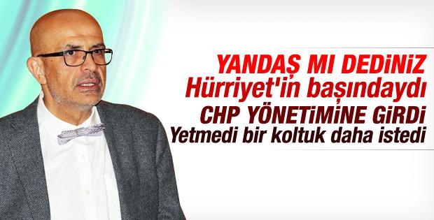 Enis Berberoğlu Sözcü gazetesine katıldı