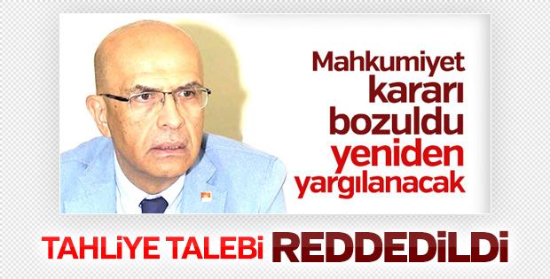 Enis Berberoğlu'nun tutukluluğu devam edecek