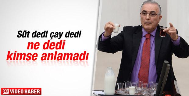 Ensar Öğüt'ün Meclis'te yaptığı çay-süt hesabı karıştı