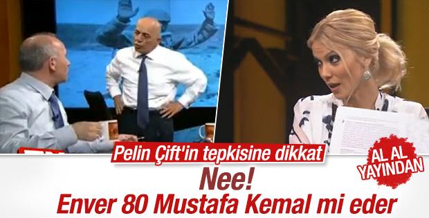 Canlı yayında Mustafa Kemal mi Enver Paşa mı tartışması
