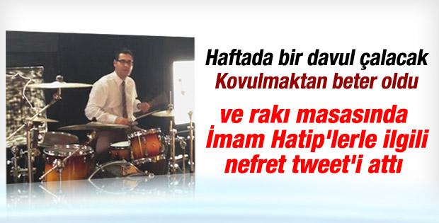 Enver Aysever'den İmam Hatip'lere nefret tweet'i