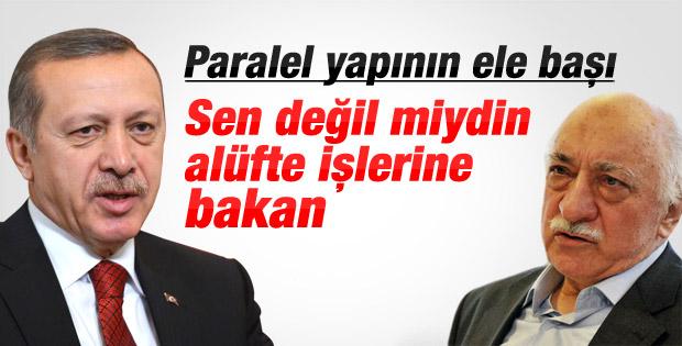 Başbakan Erdoğan'dan Gülen'e sert gönderme - izle