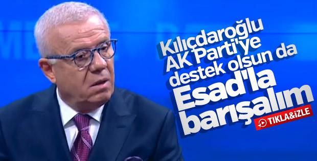 Ertuğrul Özkök Suriye için Erdoğan'a destek istedi