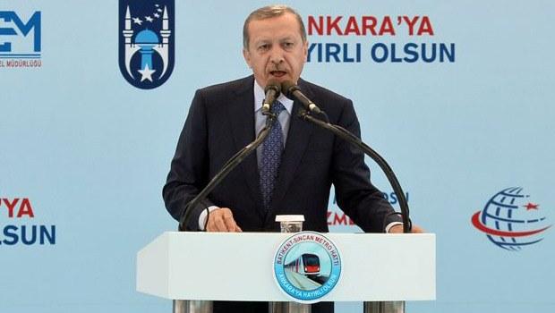Başbakan Erdoğan'ın Ankara-Sincan metro açılışı konuşması - izle
