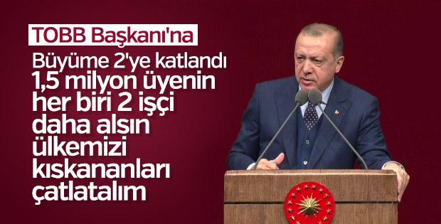 Cumhurbaşkanı Erdoğan İstihdam Şurası'nda