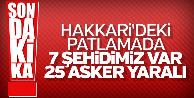 Başkan Erdoğan : 7 şehidimiz var