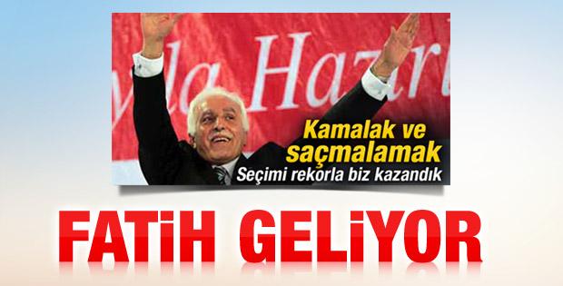Saadet Partisi'nin başına Fatih Erbakan geçiyor