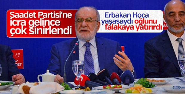 Karamollaoğlu'ndan Erbakan'a tepki geldi