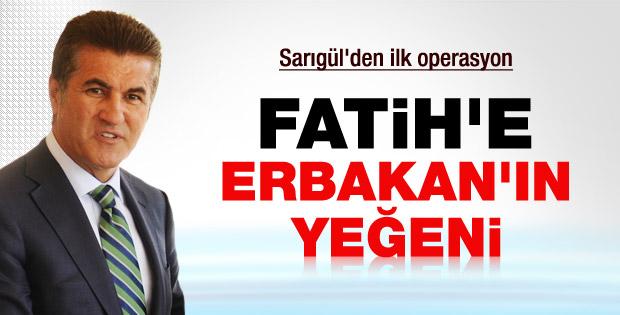 Erbakan'ın yeğeni CHP'den aday
