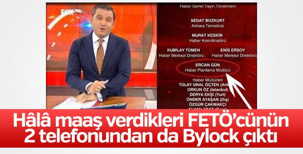 FOX TV'nin sahip çıktığı Ercan Gün'den 2 ayrı bylock çıktı