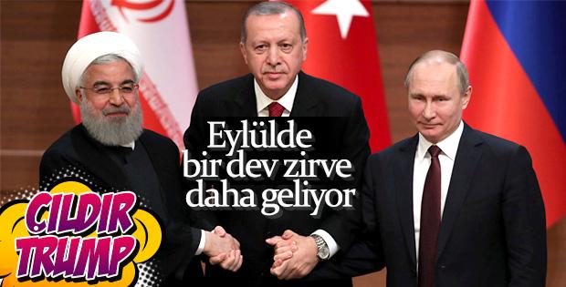 Erdoğan- Putin- Ruhani zirvesi eylülde