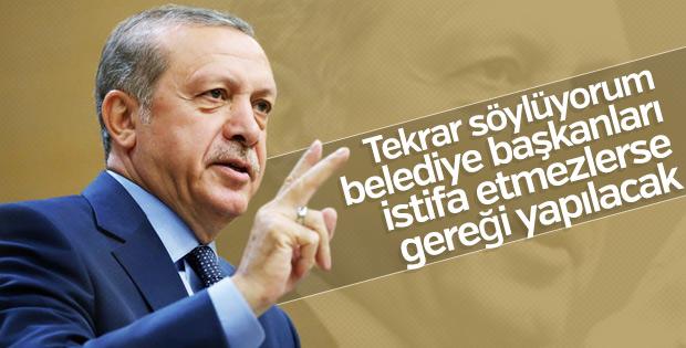 Erdoğan 3 belediye başkanının istifasını bekliyor