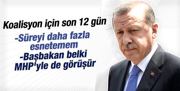 Erdoğan: Başbakan belki MHP'yle de görüşür