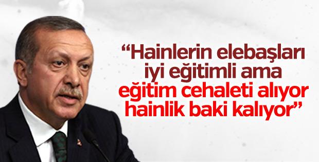 Cumhurbaşkanı Erdoğan'dan ABD'de açıklamalar