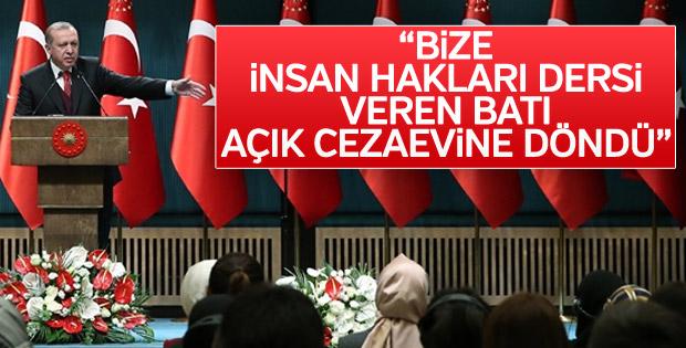 Cumhurbaşkanı Erdoğan: Avrupa açık cezaevine döndü