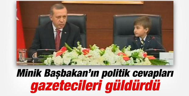 Erdoğan Başbakanlık'taki 23 Nisan programında konuştu İZLE