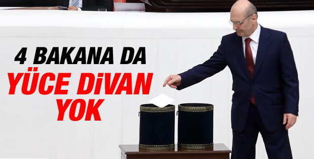 Erdoğan Bayraktar Yüce Divan'a gitmeyecek