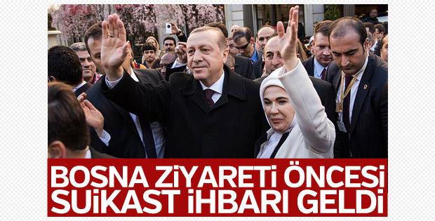 Erdoğan'a Balkanlar ziyaretinde suikast ihbarı