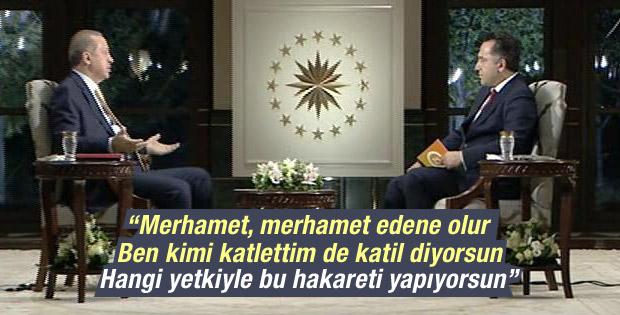 Cumhurbaşkanı Erdoğan'dan canlı yayında açıklamalar