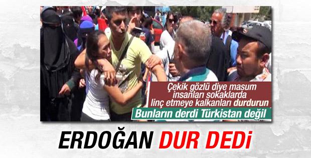 Erdoğan: Provokatörlerin oyununa gelmeyin