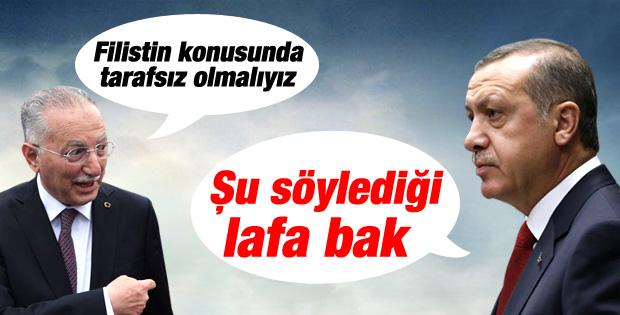 Başbakan Erdoğan'dan İhsanoğlu'na Filistin göndermesi İZLE