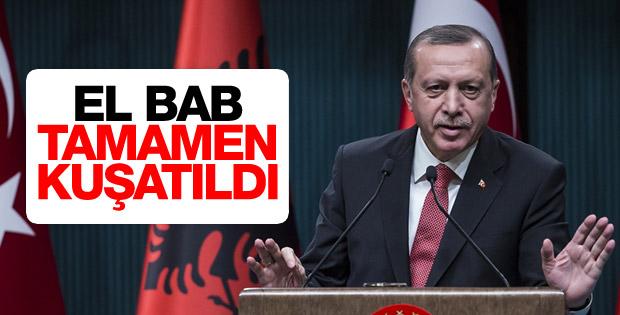 Cumhurbaşkanı Erdoğan: El Bab tamamen kuşatma altında