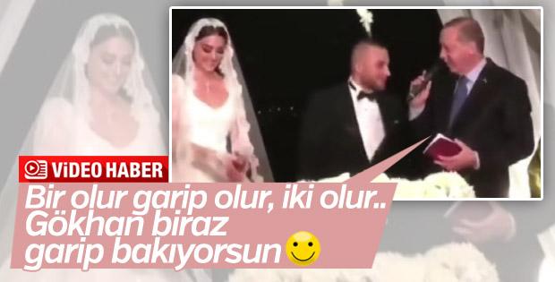 Cumhurbaşkanı Erdoğan'dan Gökhan Töre'ye 4 çocuk esprisi