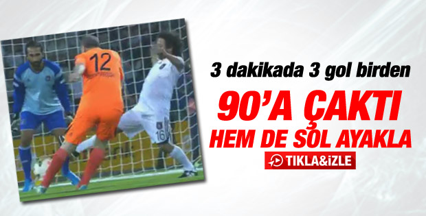 Başbakan Erdoğan'dan 3 dakikada 3 gol