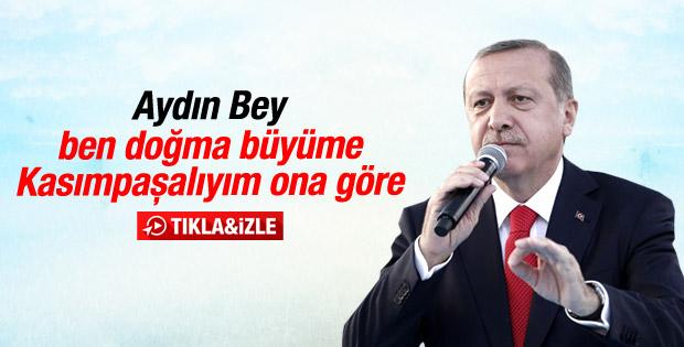 Cumhurbaşkanı Erdoğan'ın Ankara konuşması