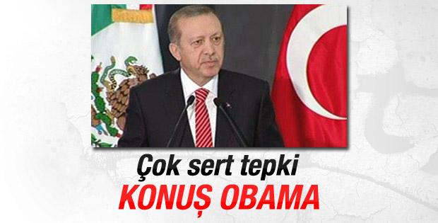 Erdoğan: Sayın Obama neden sesin çıkmıyor