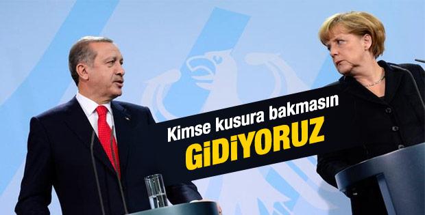 Erdoğan: Almanya'ya gitmeseniz diyenler oluyor