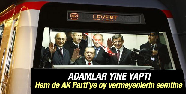 Levent - Hisarüstü metro hattı açıldı