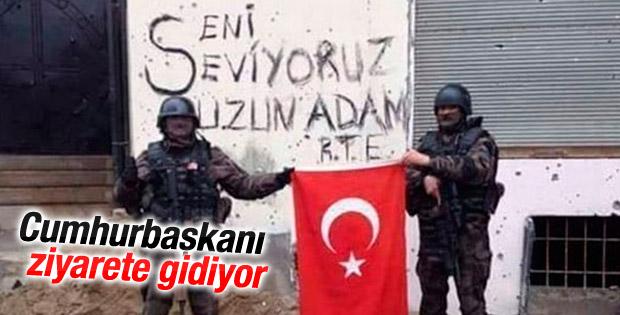 Cumhurbaşkanı Erdoğan Özel Harekatçıları ziyaret edecek