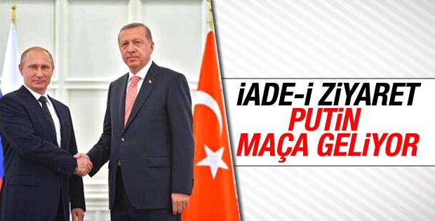 Putin milli maç için Türkiye'ye geliyor