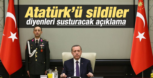 Cumhurbaşkanlığı'ndan Atatürk fotoğrafı açıklaması