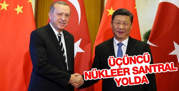 Erdoğan ve Şi Jinping üçüncü nükleer santrali görüştü
