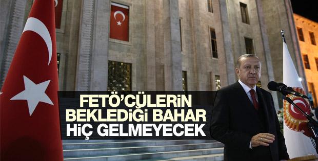 Cumhurbaşkanı Erdoğan: Bekledikleri bahar hiç gelmeyecek