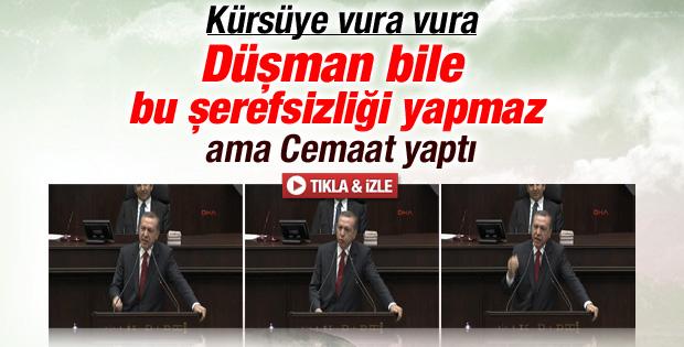Erdoğan: Tek ceketle çıktı yola şimdi ceketsiz kaldı İZLE