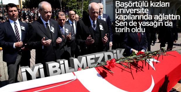 Erdoğan Teziç'e Galatasaray Üniversitesi'nde tören