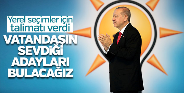 Cumhurbaşkanı Erdoğan'ın hedefi yerel seçimler