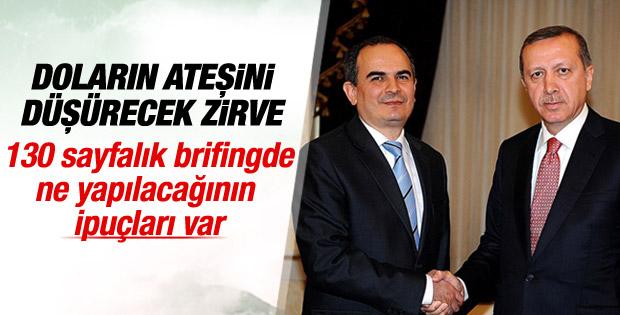 Cumhurbaşkanı Erdoğan, Babacan ve Başçı'yı kabul etti