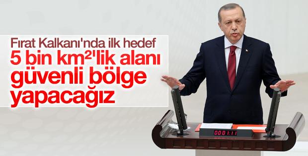 Cumhurbaşkanı Erdoğan Fırat Kalkanı'nın hedefini açıkladı