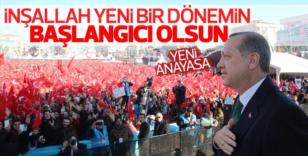 Erdoğan'dan anayasa değişikliği değerlendirmesi