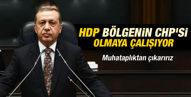Başbakan'dan HDP'ye tepki