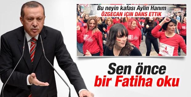 Cumhurbaşkanı Erdoğan'dan Aylin Nazlıaka'ya tepki