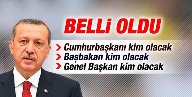 Başbakan Köşk'e çıkınca AK Parti'de neler olacak